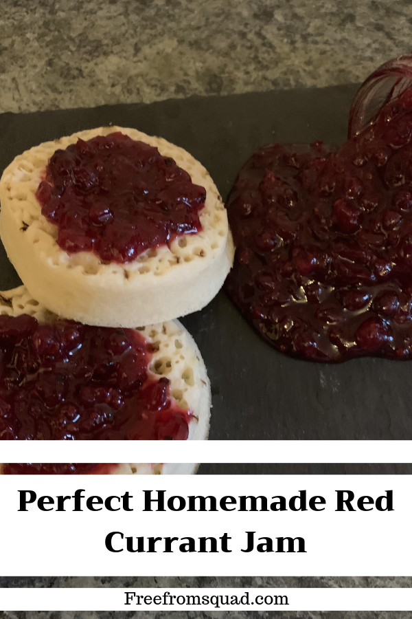 Perfect Homemade Red Currant Jam