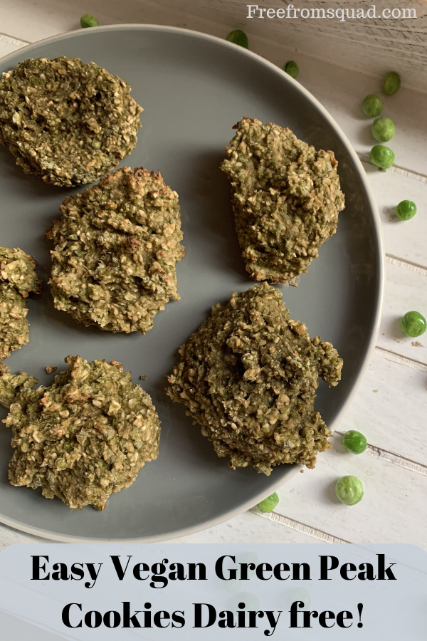 Easy Vegan Green Peak Cookies Dairy free!