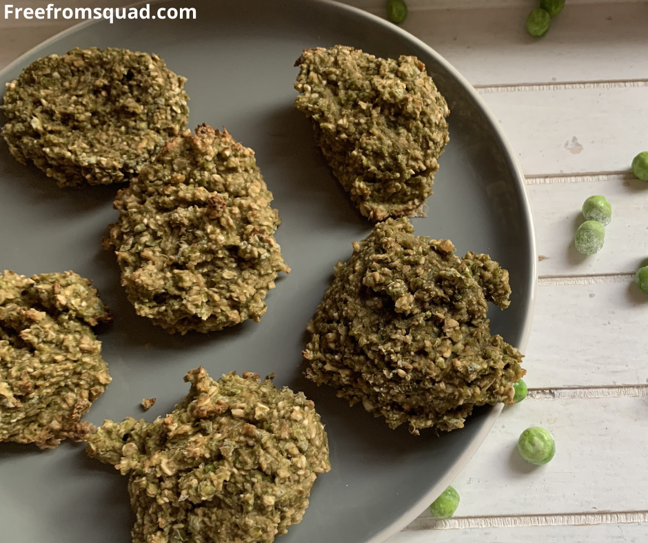 Easy Vegan green pea cookies Recipe