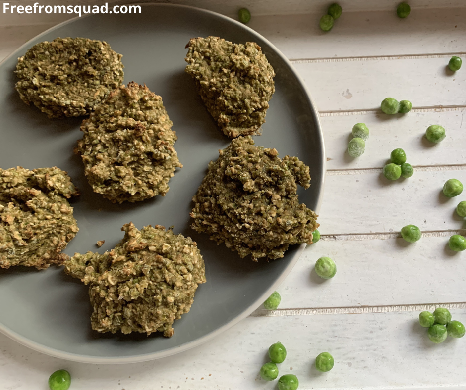 Vegan pea cookies