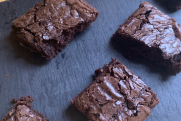 Easy Vegan Chocolate Brownies Recipe - how to make vegan brownies