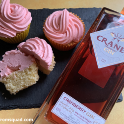 Gin And Tonic Cupcakes Recipe - Cranes Gin Cupcakes