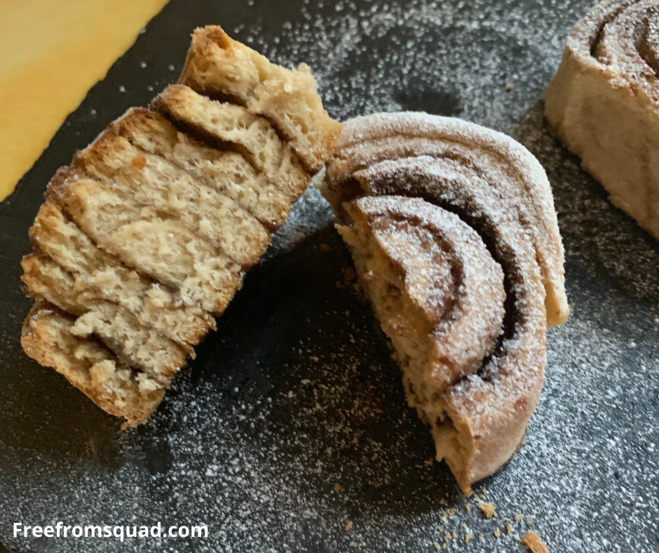 Vegan Cinnamon rolls - Christmas Vegan Cinnamon Rolls Recipe