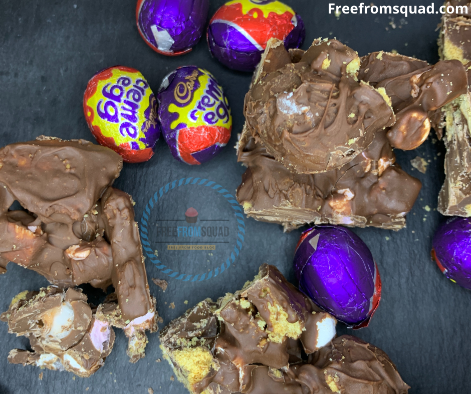Creme Egg Rocky Road Recipe - Easter Recipe