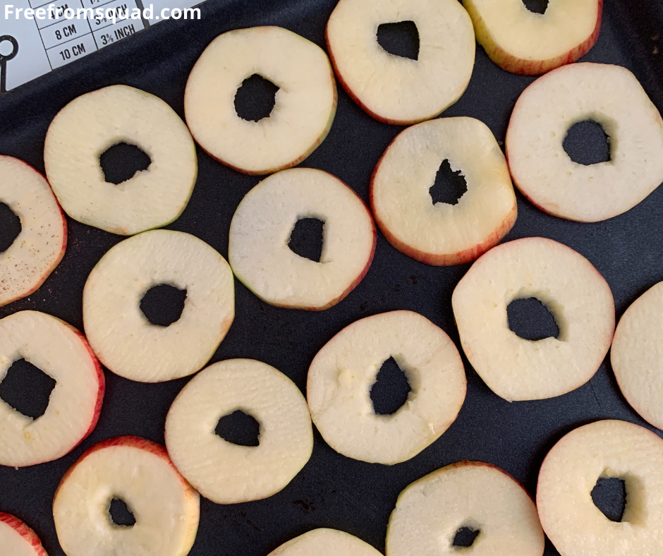 Dried apple slices recipe