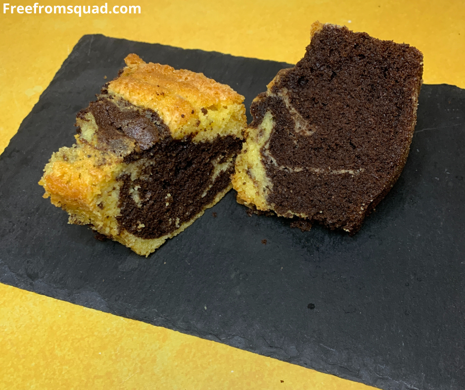 Vegan Marble Cake Recipe