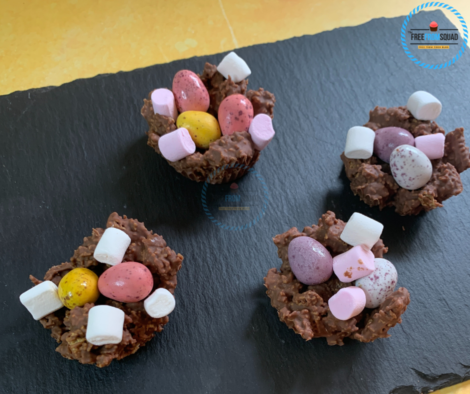 Chocolate Marshmallow Easter Nests Recipe