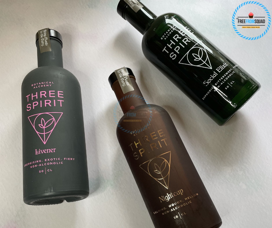 Three Spirit Drinks The collection Review