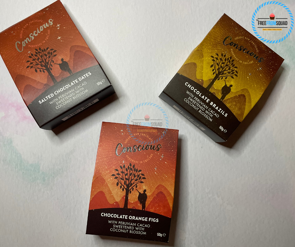 Conscious Chocolate Coated Nibbles